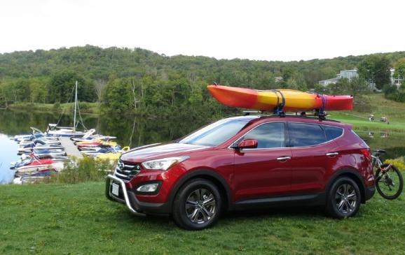 2013 Hyundai Santa Fe Sport - side view