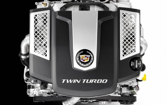 2014 Cadillac Twin-Turbo 3.6L V-6 Engine