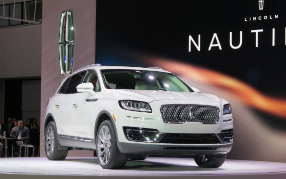 2018 Lincoln Nautilus - successor to the MKX