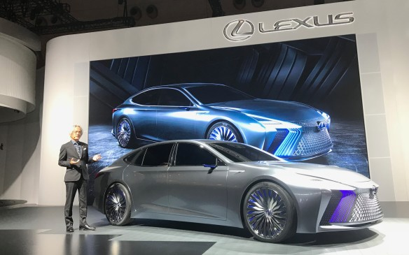 <p>For sheer impressive design, however, perhaps the Lexus LS  concept takes the prize. It's a partially-autonomous car that drove itself onto the stage, and is a showcase for the self-driving technology Lexus expects to be in production by 2020. And that huge grille? It has shutters that open and close to cool the engine.</p> <p>Weird or wonderful? The decision is yours.</p>
