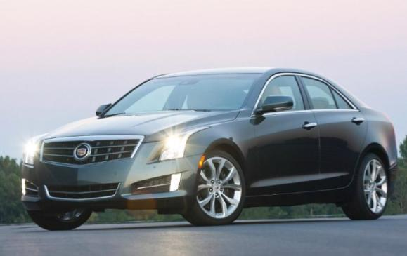 2013 Cadillac ATS - front 3/4 view low