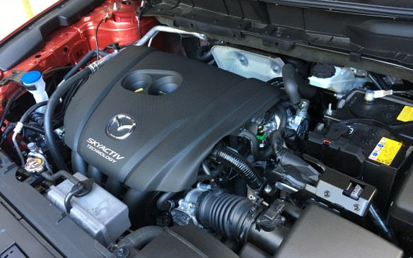 <p>Although the 155-horsepower, 2.0-litre SKYACTIV-G four-cylinder has been dropped for 2017 in the U.S. market, it's still available to Canadian buyers, but only in the price-leading base front-wheel drive GX model and only paired with a six-speed manual gearbox. The rest of the CX-5 lineup gets the 2.5-litre SKYACTIV-G four with direct gas injection, double overhead camshafts, 16 valves and the full suite of SKYACTIV technologies. Mazda engineers have made some tweaks to the engine, such as adding asymmetrical oil rings and piston skirts to reduce skirt friction by 13%. The pistons have also been revised by trimming off the top edge, which was a hot spot that could trigger pre-ignition or knock in the high-compression (13.0:1) SKYACTIV engines.</p>