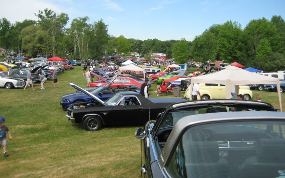 <p>This year's Fleetwood Cruize-in – the 11th edition – attracted more than 3,500 vehicles and an estimated 12,000 spectators on opening day, with some vehicles coming from as far away as Newfoundland and Nova Scotia, as well as numerous U.S. states. Day 2 dawned under threatening skies, which later opened up with several heavy downpours. That weather kept the day's car count down, but Plunkett said thousands of spectators still turned out. Proceeds from the event (admission is just $10) are shared by more than 30 area charities and although final figures are still being calculated for this year's show, Plunkett said the event has raised $1.321 million since its humble beginning in 2002.</p>