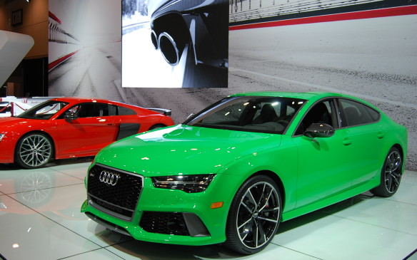 "<p>Many people come to the auto show to check out candidates for their next set of wheels. But not everybody. This gallery is for those just looking to swoon, to dream of driving fast, to see some ""sports"" cars, wishing it was riding season, or looking for vehicles winning awards, The CIAS has it all.</p>"
