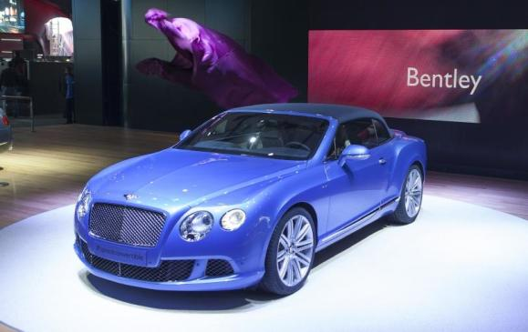Bentley Continental GT Speed Convertible - NAIAS
