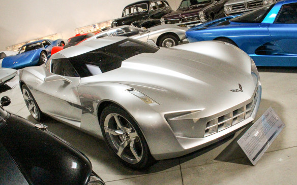 <p>The evolved essentials of that iconic styling theme can be seen almost 50 years later in this 2009 Chevrolet Stingray concept - as well as in the current Corvette C7 production models.</p>