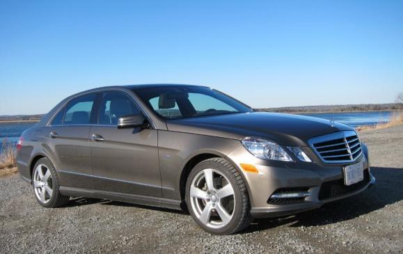 2012 Mercedes-Benz E350 - Front