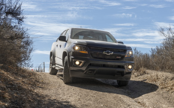 <p>It's been an interesting year for diesel, to say the least, but diesel has always been an exciting option in the truck market and Chevrolet wanted to show off its Colorado diesel truck on EcoRun.  </p> <p>The Colorado diesel has a new 2.8-litre Duramax turbo-diesel engine that produces 181 hp and 369 lb-ft of torque thanks to a high pressure common rail injection system. It has a maximum trailer rating of 3,943 kg.</p>
