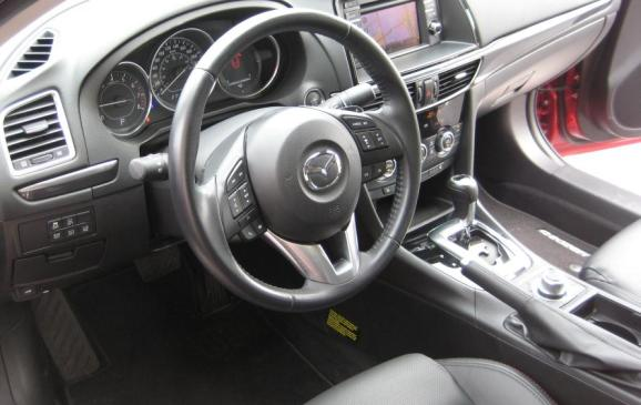 2014 Mazda6 GT - steering wheel and instrument panel