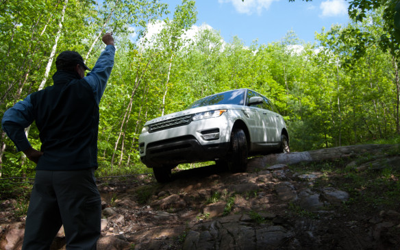 <p>When off-roading, a good spotter can be very helpful, whether it's a passenger out off-roading with you, or the driver of another vehicle out on the trail. As mentioned earlier, it is always preferable to off-road with another vehicle in case you are in need of assistance, so that driver can potentially be your spotter – and <em>vice versa</em>.</p> <p>A spotter acts as the eyes of the driver outside the vehicle. He/she can see obstacles the driver may not be able to see from the driver's seat, and can direct where and how to get the vehicle's tires in the right place. Generally, it's best to stand in front of the vehicle, a safe distance away, always facing the vehicle. As the driver, it's important to trust the spotter, keeping your eyes only on him/her. Pointing left or right means steer that direction, while a closed fist represents stop and hold. A hand gesturing to move forward or toward the spotter means to move the vehicle ahead slowly.</p>