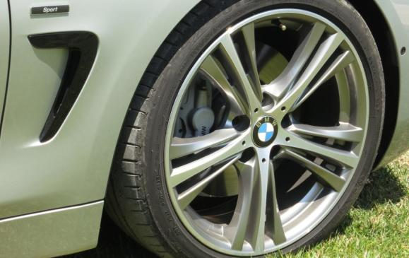 2014 BMW 435i Coupe -rear wheel detail