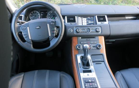 2012 Range Rover Sport - instrument panel and centre console