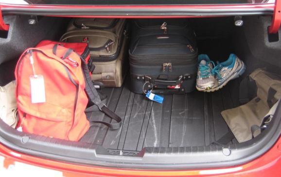 2014 Mazda6 GT - trunk