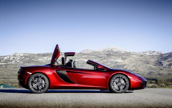 McLaren 12C Spider - Retractable Herdtop