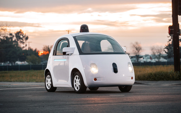 <p>The final stage, Level 5, is totally self-driving and would not even include a steering wheel or pedals, like the experimental Google car seen here. It could drop you off at your destination and then find its own way to a parking spot.</p>