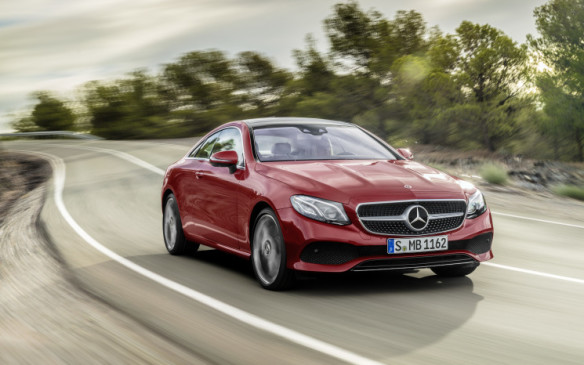 <p>The Mercedes-Benz E-Class sedan was a big hit in 2016, and now the German luxury brand is showing off its latest edition coupe version in Detroit. The two-door coupe isn't for everyone, but its sleek silhouette and styling will make some heads turn.  </p> <p>The coupe should be available in the middle of 2017 and will adopt all the styling elements of the new sedan, as well as its first-class interior and semi-autonomous driving functions.</p>