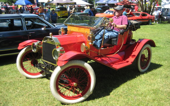 <p>Ditto for this sporty Model T Roadster</p>
