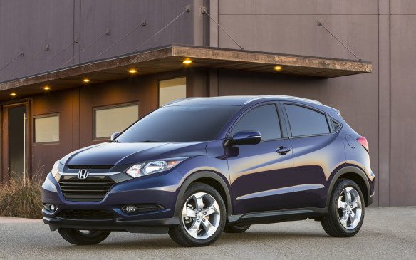 <p>Think of Honda's new HR-V as a cross between the Fit and CR-V, combining some of the best features of both. Among its greatest attributes is its roominess, given its sub-compact external size. It's powered by a 1.8-litre four-cylinder engine from the Civic.</p>