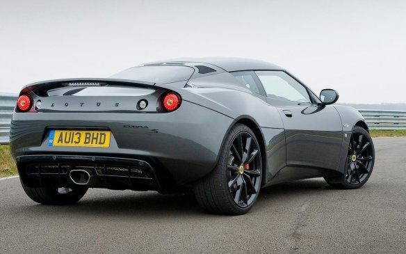 <p><strong>2015 Lotus Evora Sports Racer –</strong> Although rare in any part of the world, let alone Canada, the Lotus Evora Sports Racer is positioned as a real competitor to the Porsche 911 and Jaguar F-Type. Packing a supercharged 3.5-litre V-6 engine with over 350 horsepower, this rear-drive 2 2 is also loaded with unique paint and interior upgrades.</p>