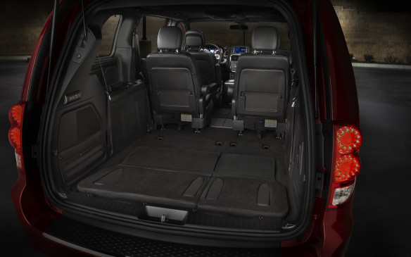 <p>The Dodge Grand Caravan has almost twice as much cargo room behind the third-row seats as, say, a Dodge Durango. Not to mention a liftover height about 250 mm lower. At $19,895 the base Canada Value Package model has to be the best vehicular value on the market. Or, after incentives, around $27K will get you an SXT with full Stow 'n Go seating and a DVD entertainment system (the benefits of which should not need explanation).</p>