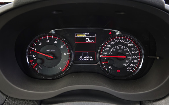 <p>The new tachometer and speedometer have a more classic look and are just plain easier to read in all lighting conditions, with their white numerals and red needles. Same story for the smaller displays with a selection of data screens for the top rectangle.</p>
