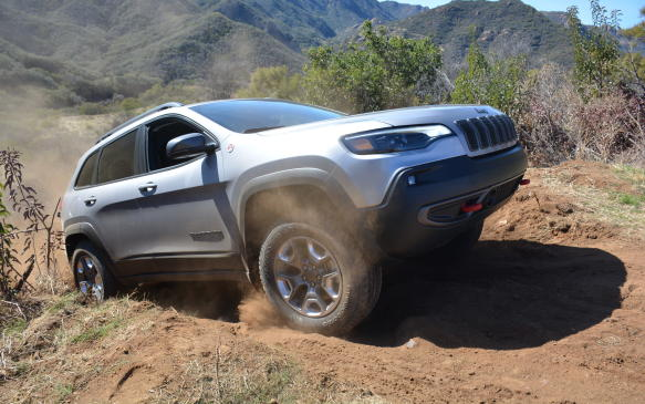 <p>The Cherokee has never been known for its handling prowess, but this new version seemed to hold its own on some extreme switchbacks. The only tricky part was going uphill where the transmission seemed uncertain which gear it should be in. Luckily, its handling remained composed with minimum body roll, as would be expected.</p>