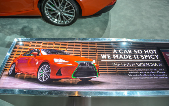 <p>As an automaker, if you're going to do something obviously tongue-in-cheek – like, say build a car themed around a bottle of hot sauce – you should go all the way. With the Sriracha, Lexus shows us how it's done and earns mad respect for it.</p>