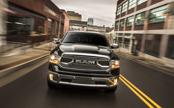 <p>The Ram still offers class-leading cabin design and in higher trims gets swanky materials and finishing. And while the optional turbo-diesel 240-horsepower V-6 can sound clattery on the outside, it would allow for one of the longest dates thanks to its fantastic range.</p>