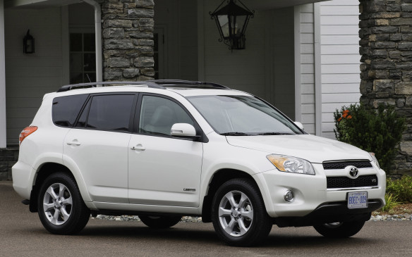 <p>Toyota recast its diminutive RAV4 crossover as a family-sized conveyance back in 2006 by making the cabin 21% spacier, with enough room for optional third-row jump seats strictly intended for kids and dogs. The Camry's 166-hp, 2.4-L DOHC four cylinder was the base engine, with a muscular 3.5-L V-6 making 269 hp optional – a class-leading powerplant you won't find in any other compact crossover. Both engines came with an automatic transmission exclusively. A new 179-hp 2.5-L four-banger became the base engine in 2009, however. And that model year also marked the beginning of Canadian RAV4 production in Woodstock, Ontario.</p>
