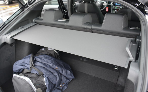 <p>Honda has created a cargo cover that unwinds from side to side without getting in the way. It's a world's first creation that eliminates the issues involved with packing a trunk and figuring out what to do with the typical removable tonneau cover afterwards.</p>