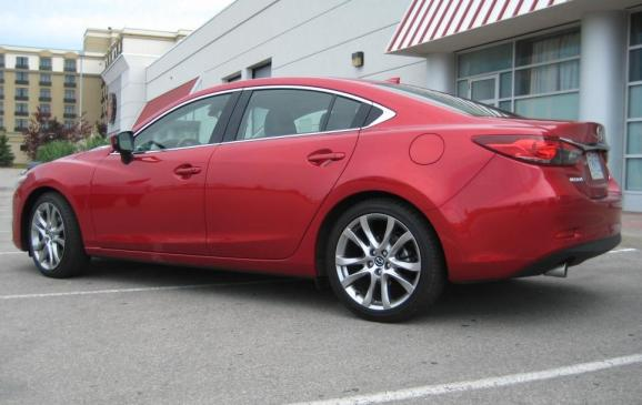 2014 Mazda6 GT - rear 3/4 view low