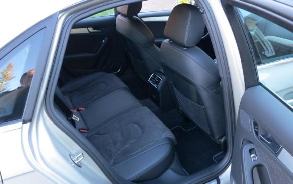 2013 Audi A4 - rear seats