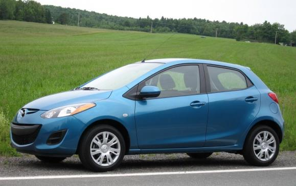 <p><strong>2011-13 Mazda 2</strong></p> <p>The interminably cute Mazda 2 was sold here solely as a five-door hatchback, its front-wheel-drive platform shared with the Lilliputian Ford Fiesta. While the 2 wasn't a big seller even when gas was $1.35 per litre, those who bought one rave about the 2's elegantly simple design, urban practicality and cheap-to-keep character. Unlike the Fiesta, the 2 was free of frills such as sunroofs and telescoping steering wheels. Mazda's weight-obsessed engineers made even the centre armrest a grudging afterthought.</p>
