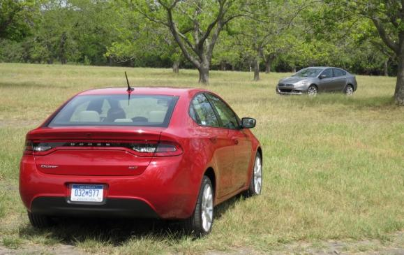 2013 Dodge Dart - rear