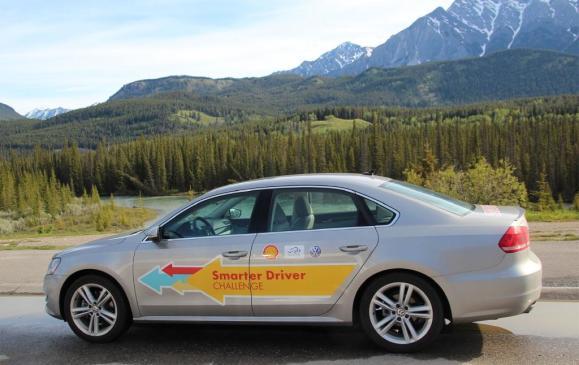 Volkswagen Passat cross-Canada fuel-economy record setter