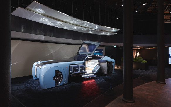 """<p>The futuristic Rolls-Royce is considered a """"grand sanctuary"""" that will keep its passengers cosseted in ultimate luxury.</p>"""