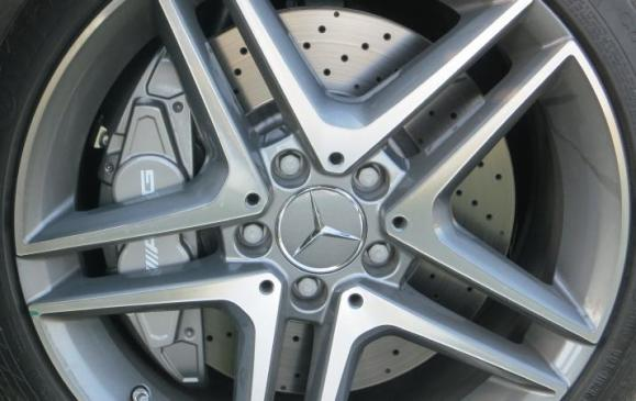 2014 Mercedes-Benz CLA - wheel and brake detail