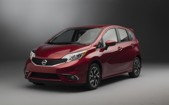 <p><strong>2015 Nissan Versa Note SR</strong></p> <p>Nissan's Versa Note is a visual winner, made even more so in SR trim, with larger painted wheels and some additional body pieces. Under the skin, it's unchanged, so it still uses the same 109-horsepower 1.6-litre engine as the Micra, only here with a fuel-saving CVT. The tall body offers acres of cargo room, and the upright seating won't decapitate larger drivers. The SR is $4,500 more expensive than the base S, but itincludes all possible niceties. With nothing down, a three-year lease at 2.82 percent is $329 a month. The residual value at the end is $9,600.</p>
