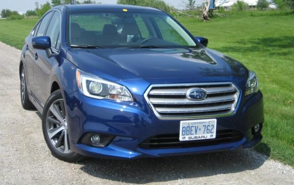 <p>2015 Subaru Legacy - Canadian Car of the Year</p>