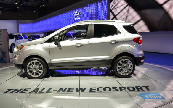 <p>The EcoSport has been around in other global markets since 2003, but this version will be retuned with new engines (1.0-litre and 2.0-litre) for North America. Expect an abundance of technology and connectivity including Sync 3 and B&O play audio system.</p>
