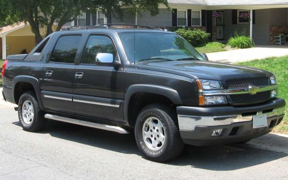 <p>Next on that list was another pickup truck, the 2003 Chevrolet Avalanche – albeit in two-wheel-drive form. The same model from the 2009 model year, claimed ninth place in Ontario. Another case of keys left in the ignitions?</p>