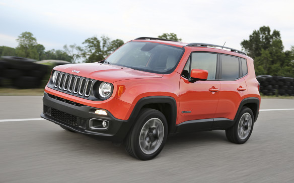<p>Jeep's small SUV Renegade, with its segment-first nine-speed automatic transmission, gets some interior upgrades for 2018, including a revamped Selec-Terrain shifter dial layout, relocated USB port and two new storage areas in the front seat area. The redesigned interior also features new seat fabrics, colours and bezel treatments. A dual-pane power sunroof is now available on Latitude, Trailhawk and Limited models, while the power My Sky open-air roof panel system is now also optional on the Sport model. The Uconnect 4 system, with 7.0-inch display, Apple CarPlay and Android Auto, is now standard on the Renegade Latitude, Limited and Trailhawk models and optional on Sport models. The Sport now comes with a 50-inch Uconnect 5.0 radio, six speakers and integrated voice command with Bluetooth and hands-free calling as standard equipment while Latitude, Trailhawk and Limited models offer an optional upgrade to the 8.4-inch Uconnect 8.4 radio with navigation. A rear backup camera is now standard on all Renegade models.</p>