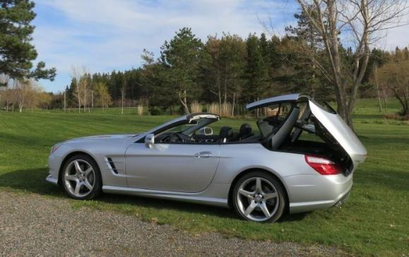 2013 Mercedes-Benz SL 550 - folding top