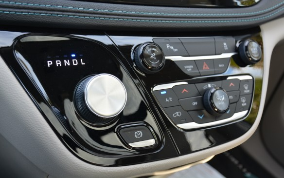<p>Instead of the nine-speed automatic used in other Pacificas, the hybrid features a single-input electrically-variable transmission (EVT) that creates a seamless transfer of power going from EV to gasoline mode, and vice versa.</p>