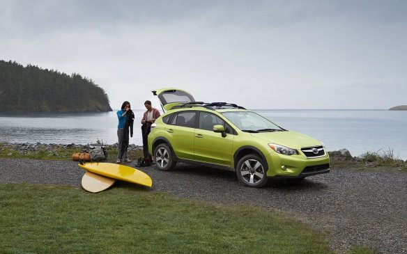 <ol> <li><strong>2. Subaru XV Crosstrek Hybrid –</strong> Subaru decided to offer its first crack at a hybrid on the one vehicle that arguably didn't need it at all. The XV Crosstrek is the least thirsty vehicle for a 'reasonable price' and the hybrid version adds more equipment, a little more power from the 13-horsepower electric motor and a modest savings in fuel consumption. It's rated at 7.9 L/100 km in the city, 6.9 on the highway and 7.5 combined. Pricing starts at $30,495, or four grand more than the normal version.</li> </ol>