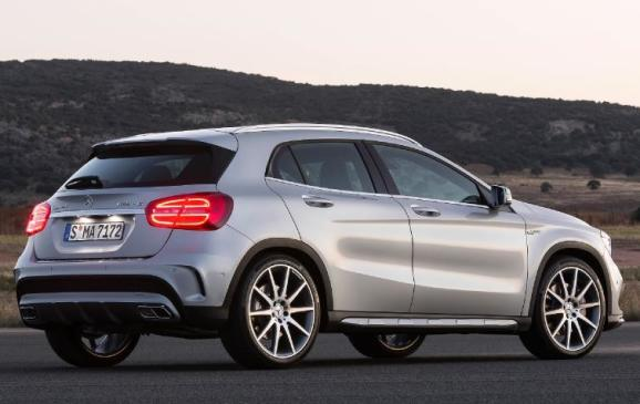 2015 Mercedes-Benz GLA 45 AMG - rear 3/4 view static