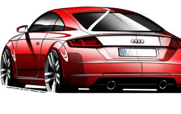 2015 Audi TT Sketch