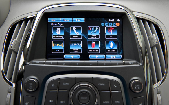 <p>GM's system is available on all its brands other than Cadillac and it has evolved to become reasonably easy to use. Most models can be operated either by touching stuff on-screen or by using the rotary selection knob and large buttons just under the screen. There are lots of options for how you prefer to use it.</p>