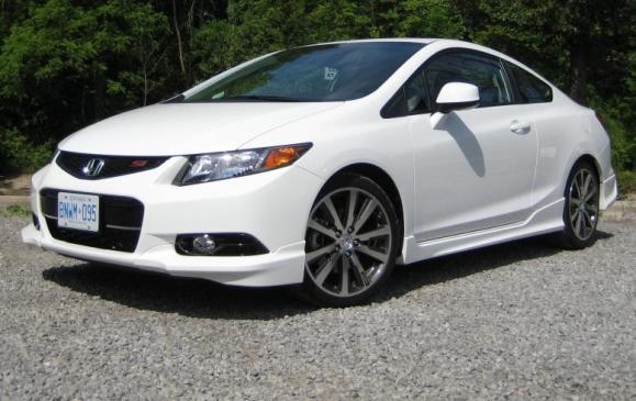 2012, Honda, Civic, Si, Civic Si, HFP - Right front view