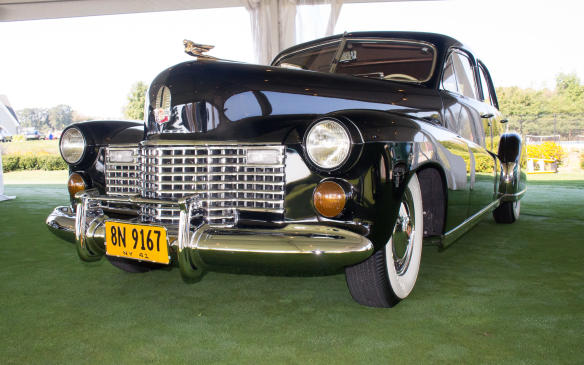 "<p>The class winner was this 1941 Cadillac Limousine from the Steve Plunkett collection. Nicknamed ""<a href=""http://www.autofile.ca/en-ca/auto-articles/meet-the-duchess-a-1941-cadillac-built-for-a-king"">The Duchess</a>,"" it was custom built by General Motors for England's King Edward after he'd abdicated the throne in 1936 to marry American socialite Wallis Simpson.</p>"